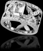 Beautiful Diamond Dress Ring