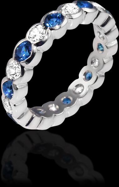 Handmade Bespoke Eternity Rings