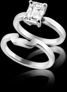 Fitted Wedding & Engagement Ring