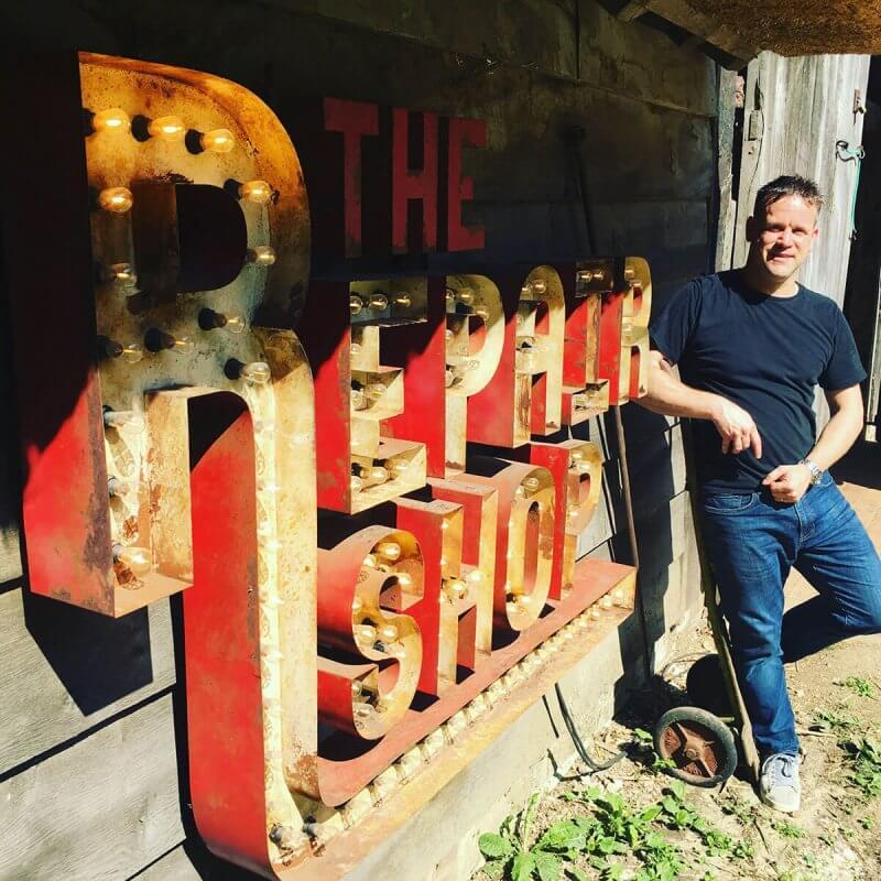 Richard Talman RTFJ on the Repair Shop