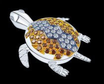 Turtle Pendant or Brooch